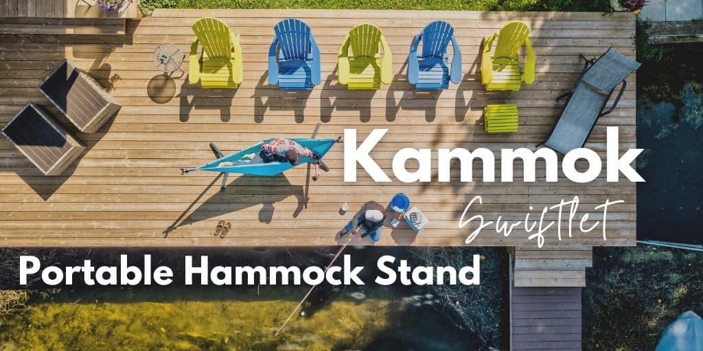 kammok swiftlet portable hammock stand