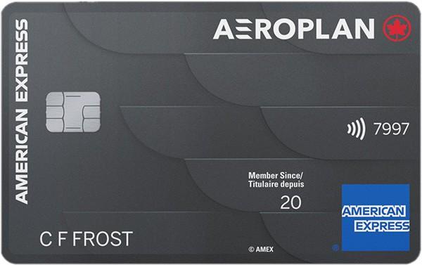 american express aeroplan card new charge card