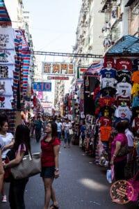 ladies market pedestrian street