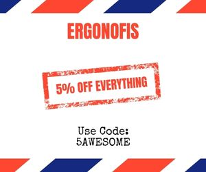 ergonofis discount code and promo code to save 5% off all products