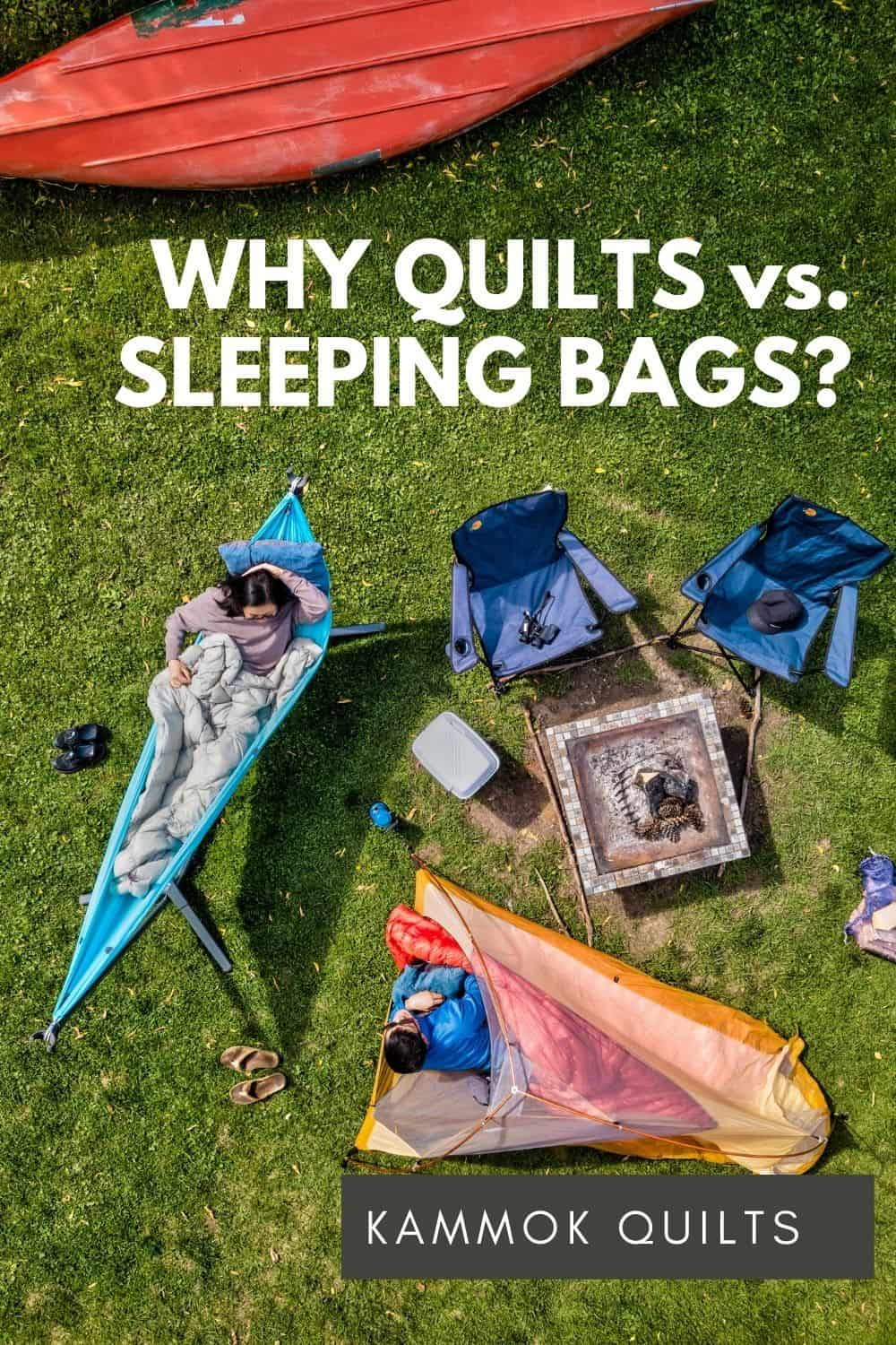 Quilt vs. Sleeping Bag - The Kammok Firebelly and Bobcat