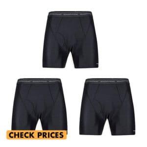 exofficio moisture wicking underwear in iceland packing list
