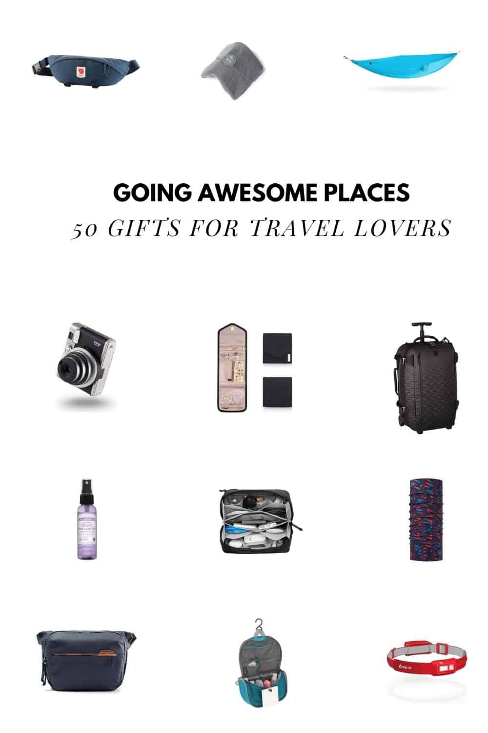 50 Gifts For Travel Lovers That They\'ll Actually Want