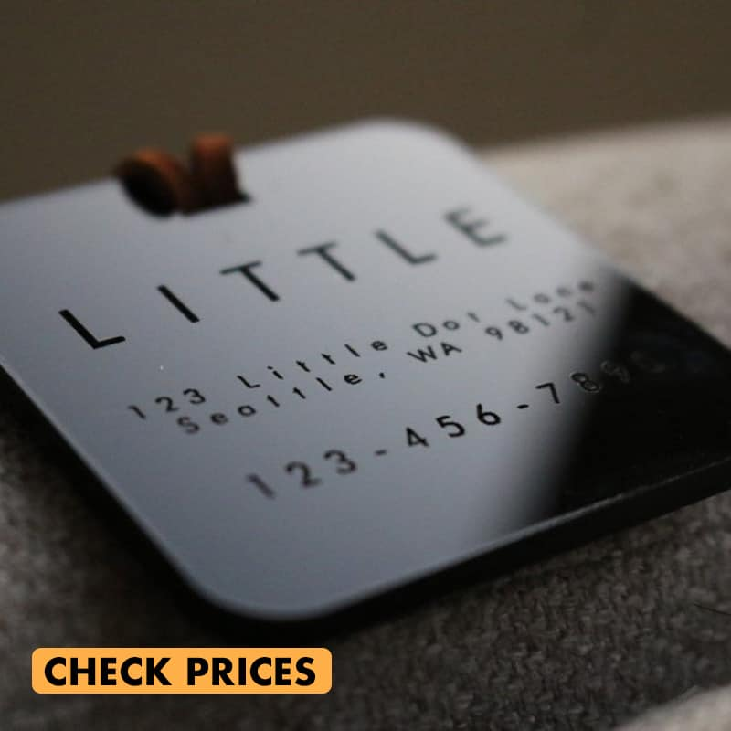 custom engraved luggage tag gifts