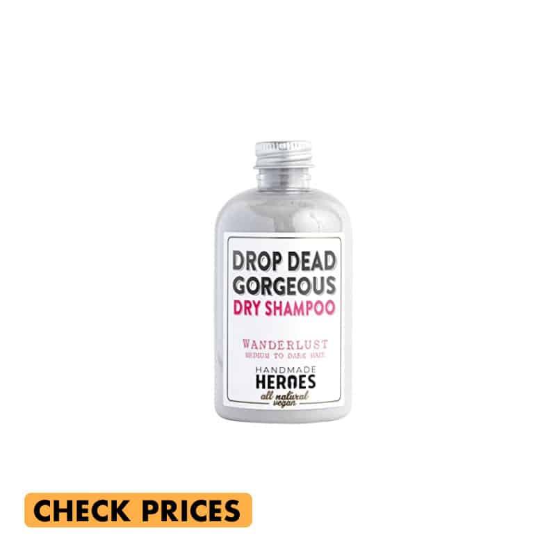 drop dead gorgeous dry shampoo by handmade heroes