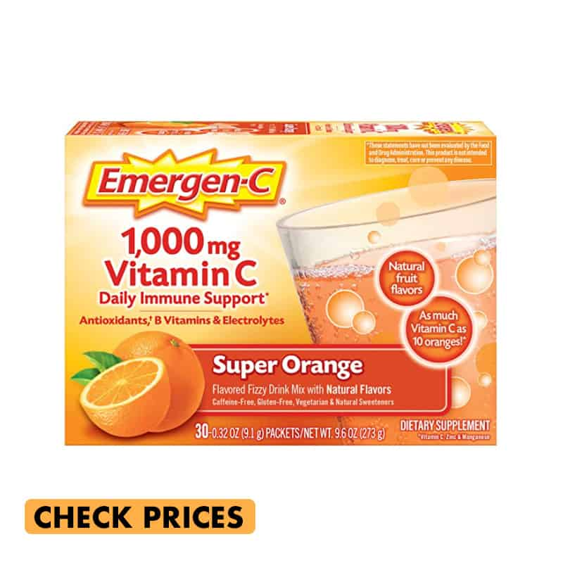 emergen-c immune support makes a great gift for travel lovers