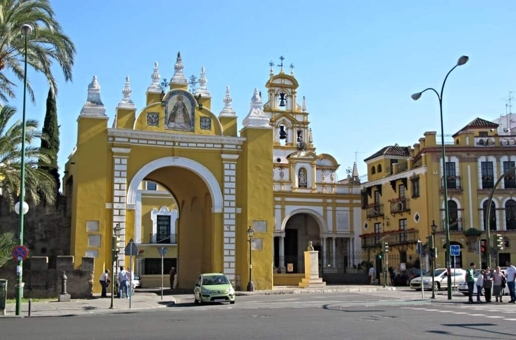 Basilica of Our Lady of la Macarena in Seville, Spain