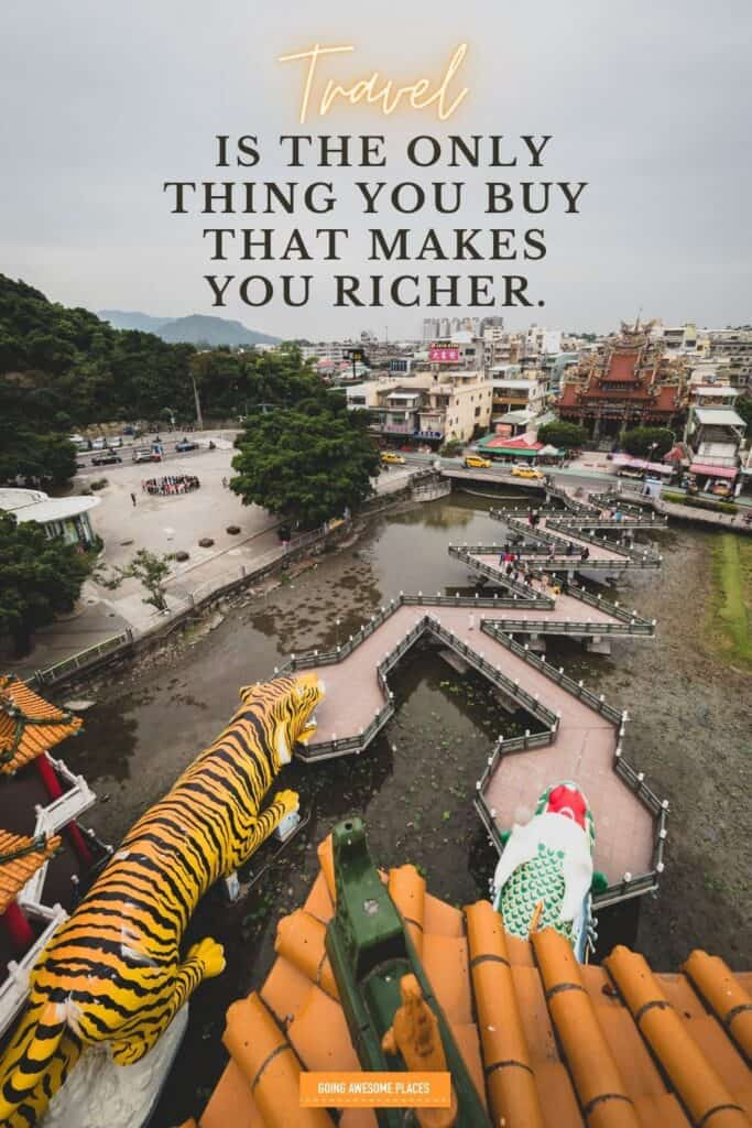 travel is the only thing that makes you richer wanderlust travel quote