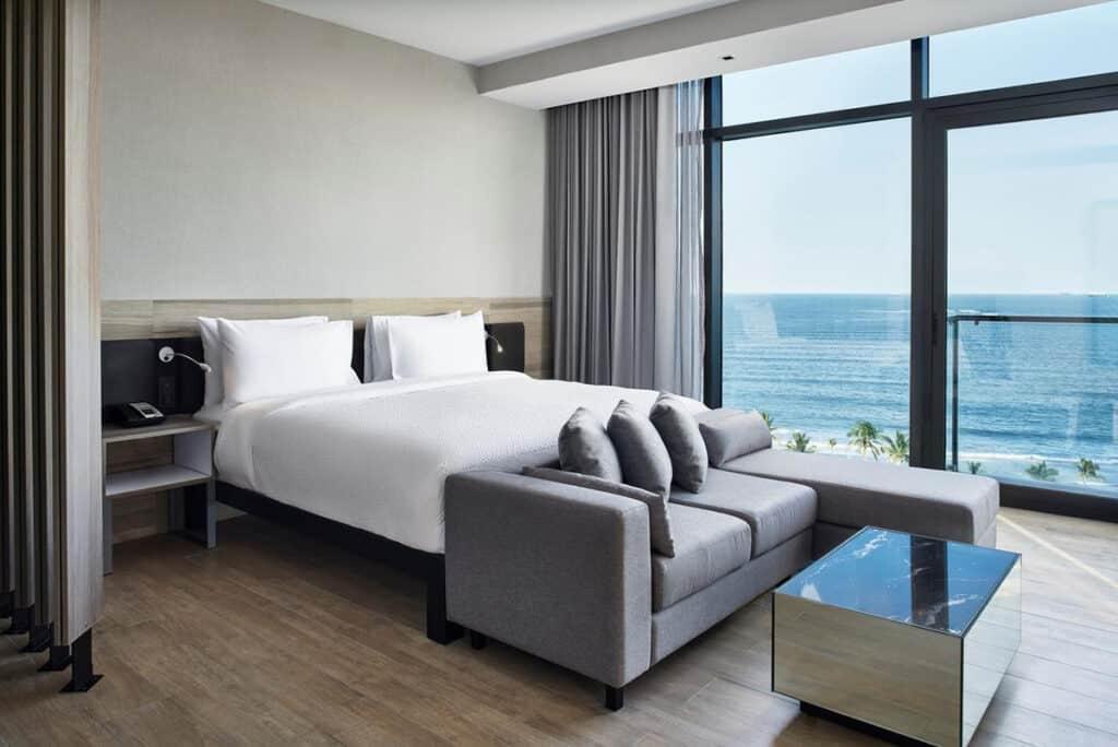 ac hotel veracruz bedroom in mexico