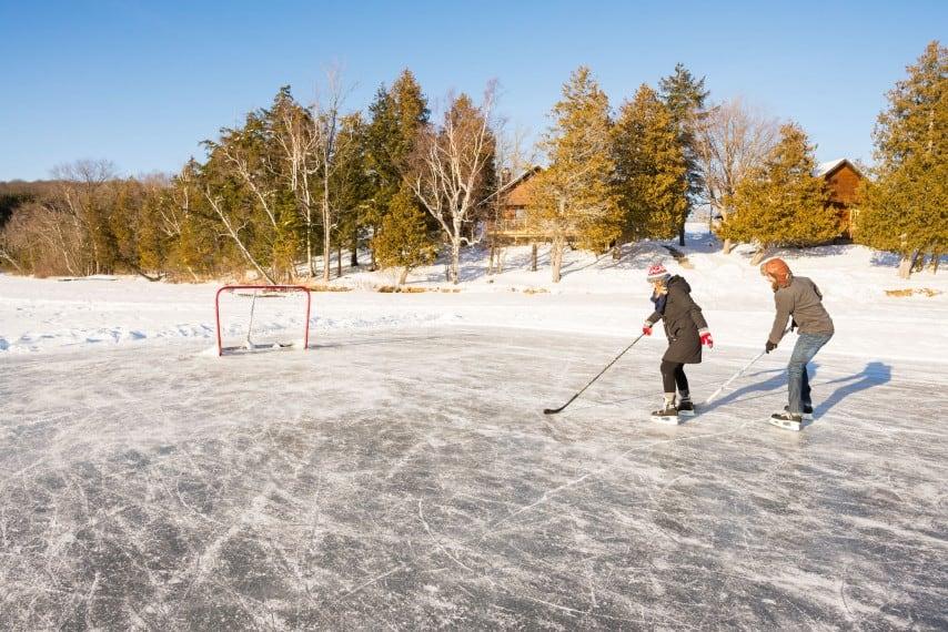 cedar grove lodge skating rink ontario getaway