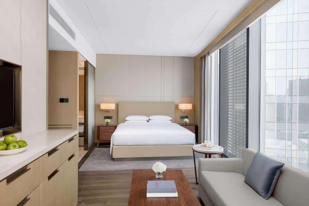 coutyard marriott xian north suite interior