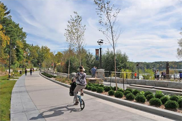 lake wilcox promenade walkway in list of best richmond hill parks