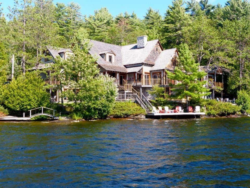 luxury retreat on lake muskoka airbnb cottage