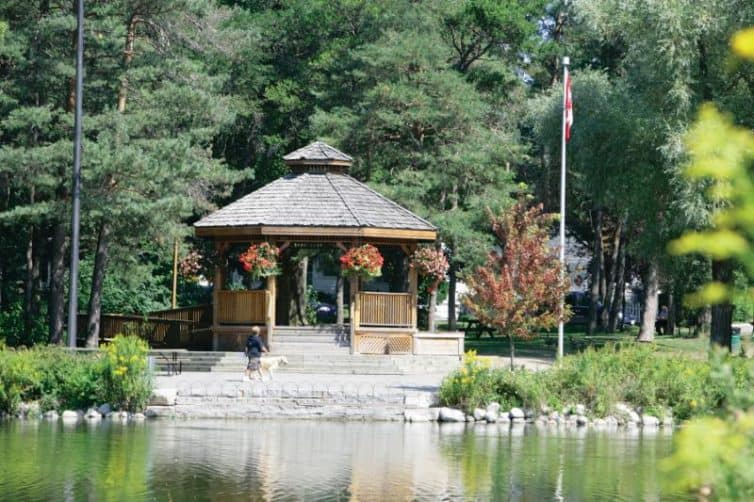 mill pond park in richmond hill
