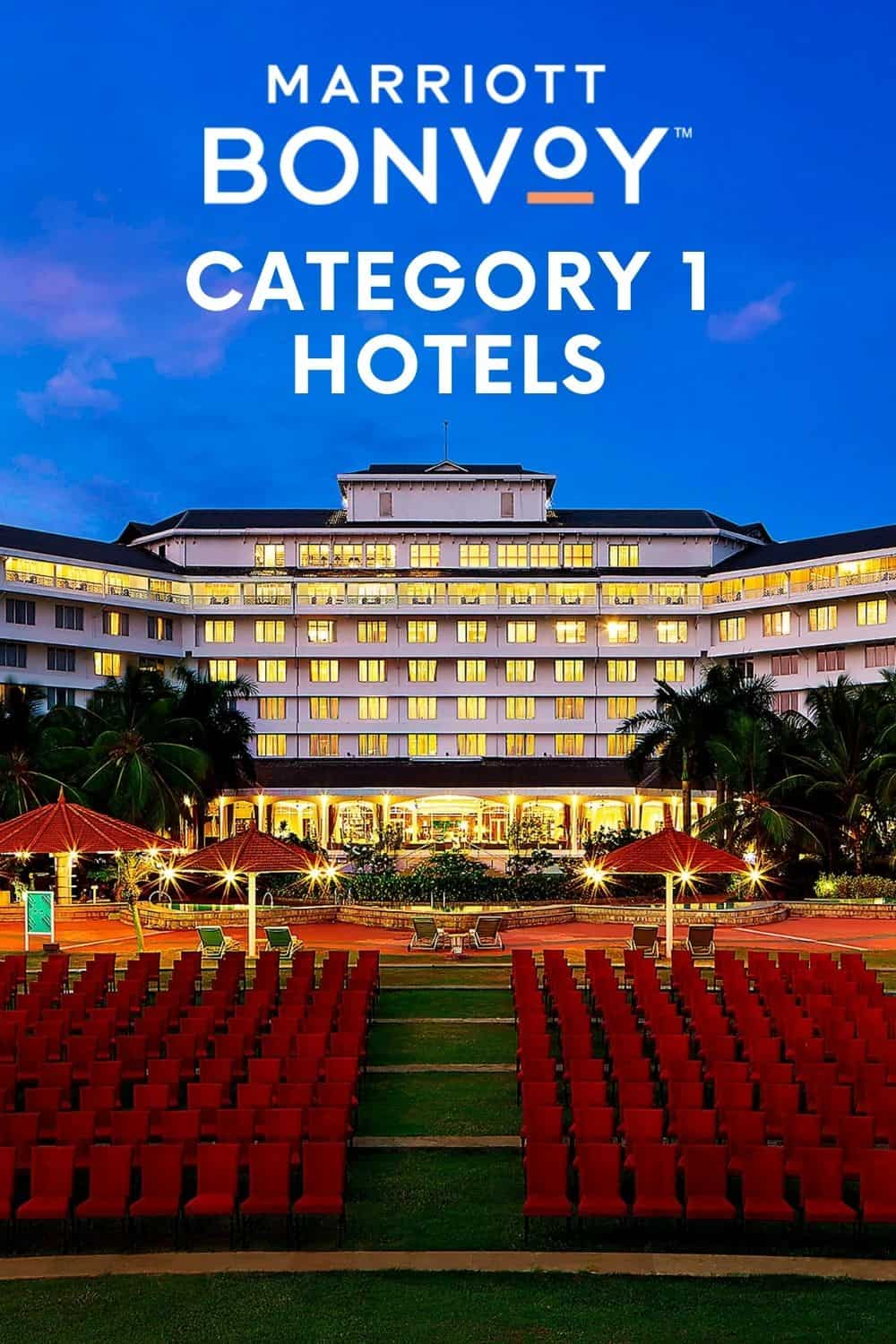 Category 1 Hotels with Marriott That Will Surprise You