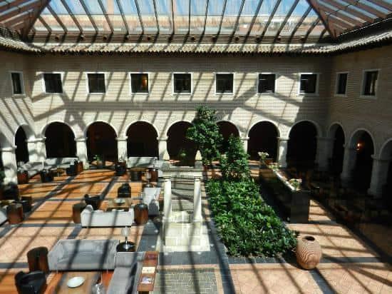 ac hotel palacio de santa ana cloister under glass category 1