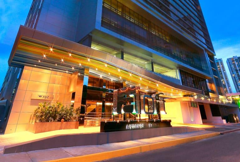 aloft panama exterior marriott hotel
