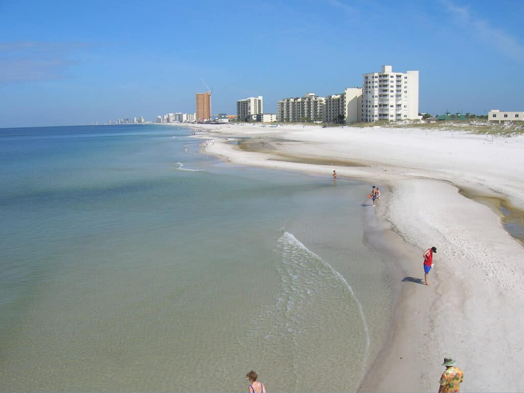florida beaches is one of the best destinations rv in the usa