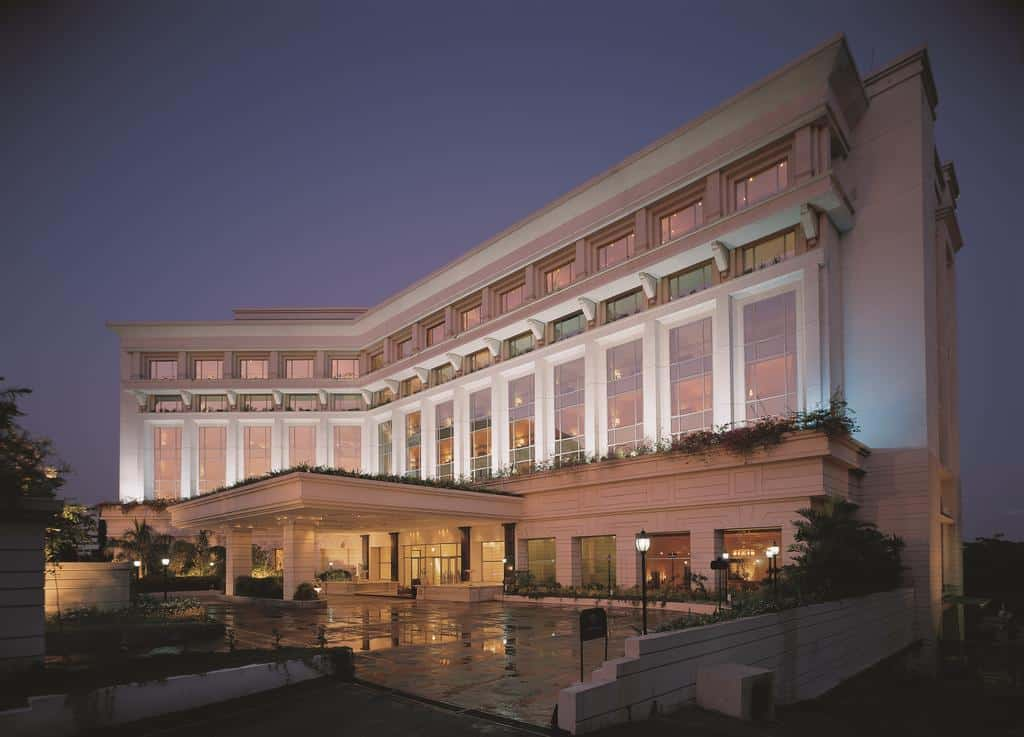 itc kakatiya a luxury collection hotel opulent exterior in hyderabad india