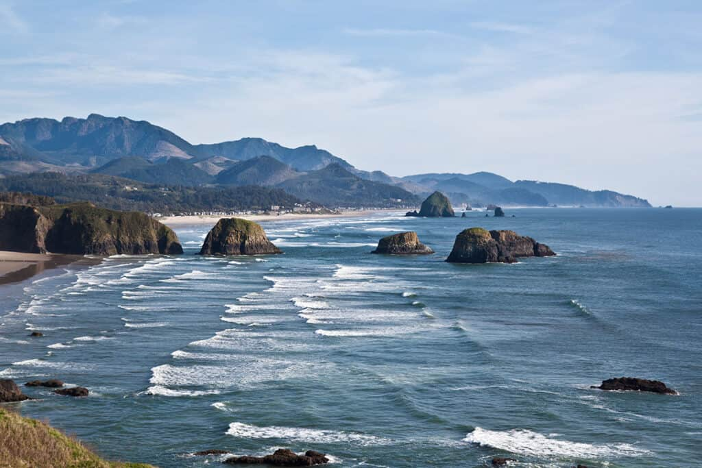 oregon coast is a perfect place to travel to with your rv