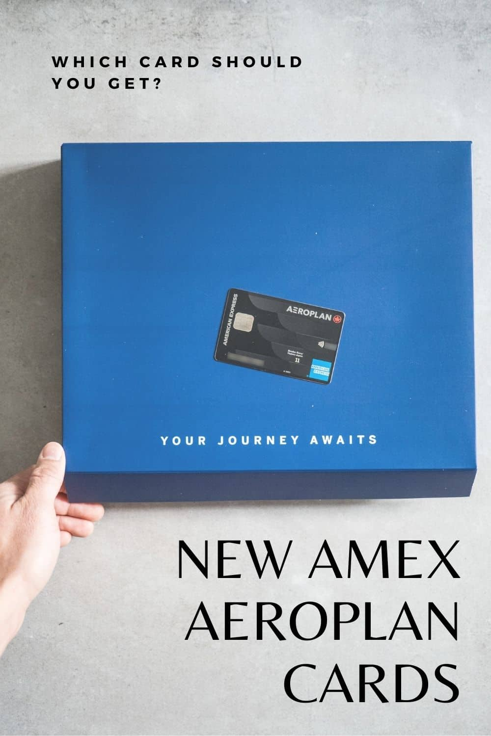 Everything You Need to Know About the New American Express Aeroplan Cards