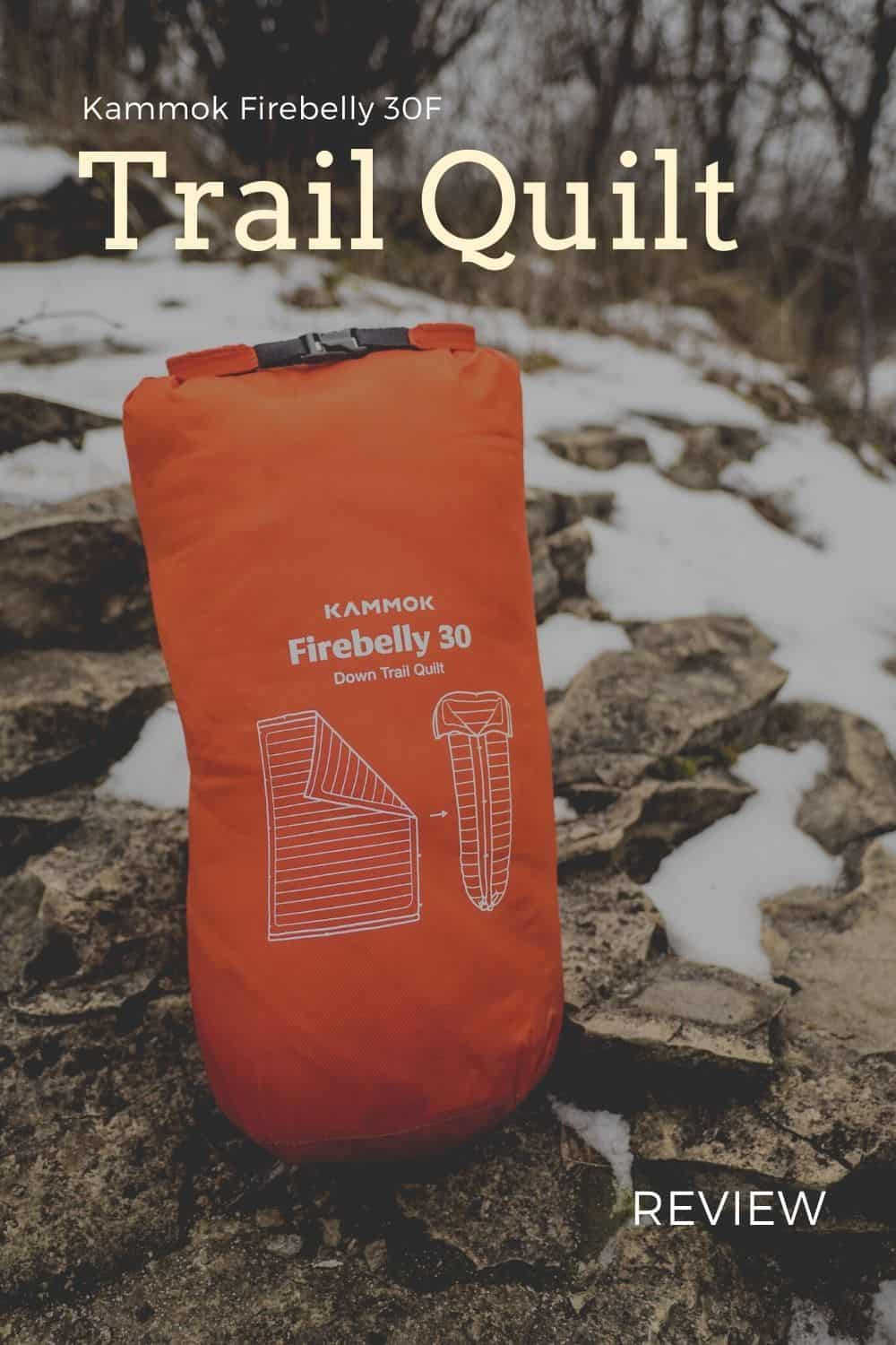 Kammok Firebelly 30 Down Trail Quilt Review