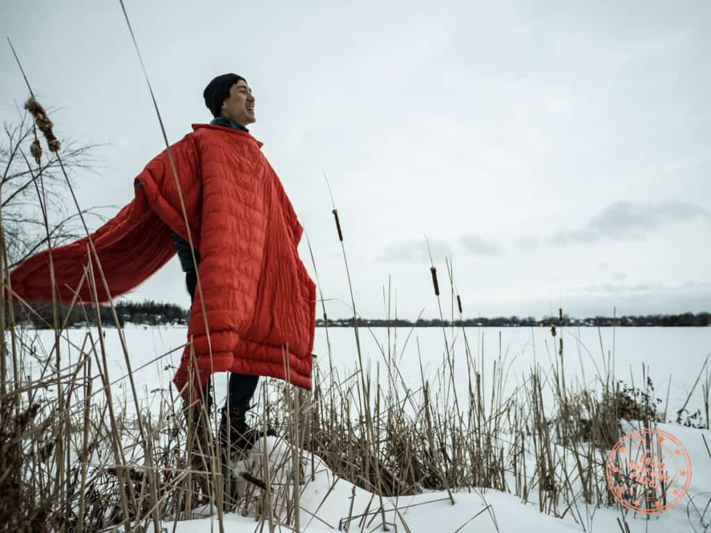 new kammok firebelly review poncho mode