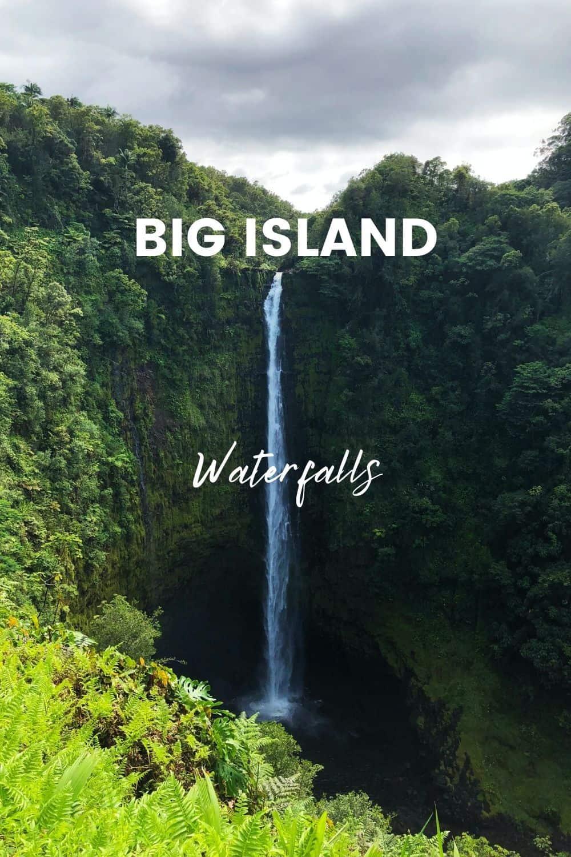 Must-See Hawaii Big Island Waterfalls