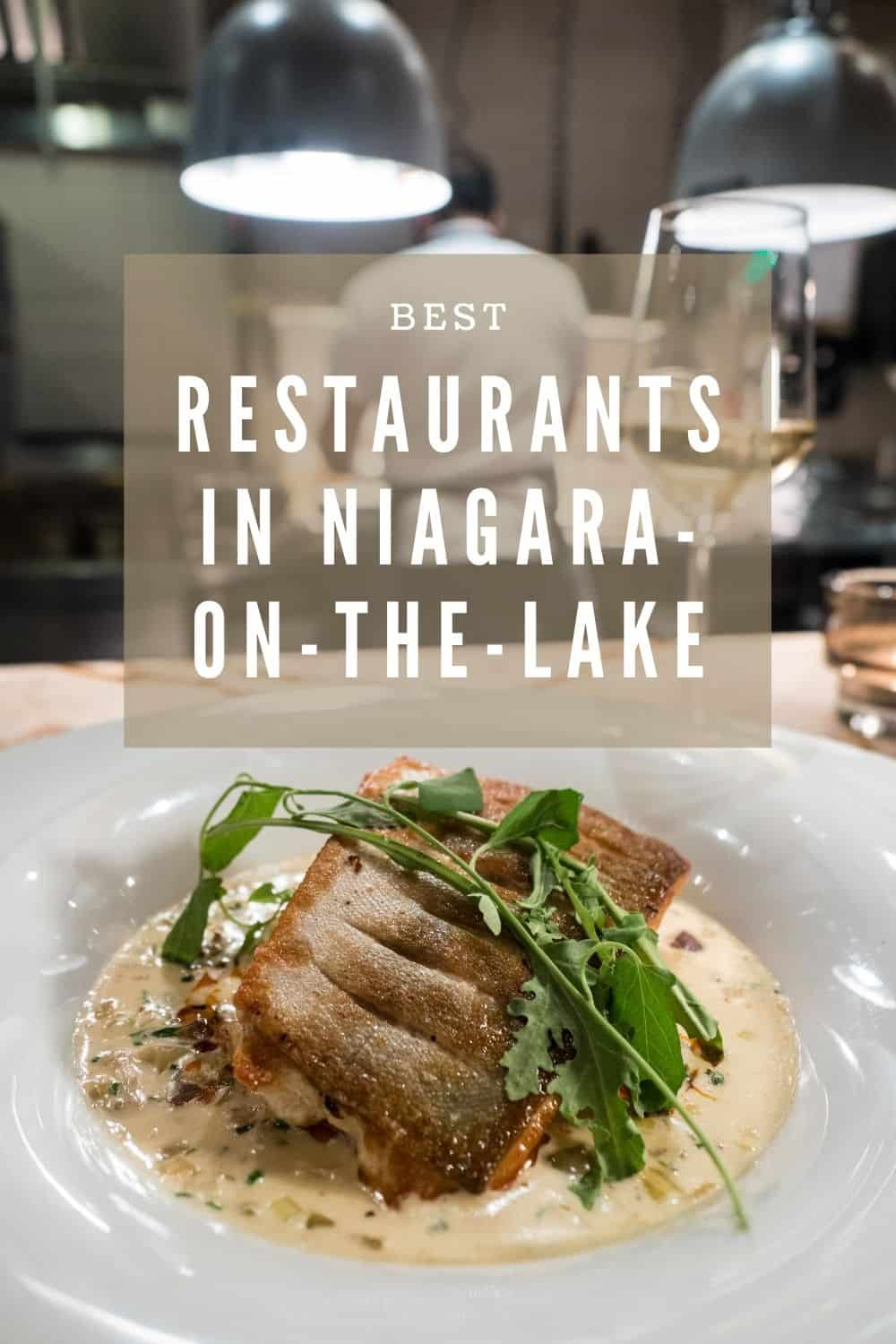 Best Restaurants in Niagara-on-the-Lake