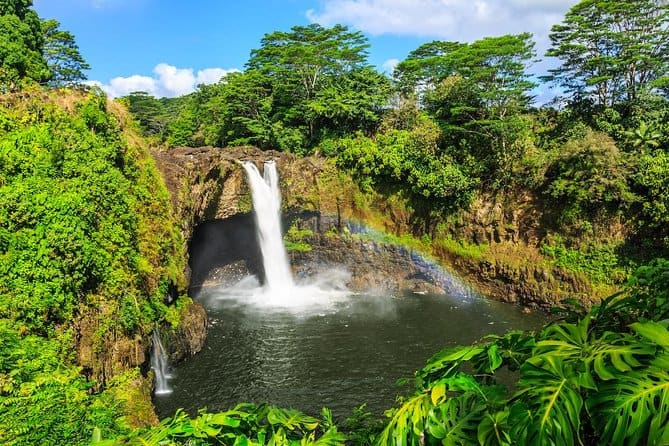 guided big island tours and rainbow falls