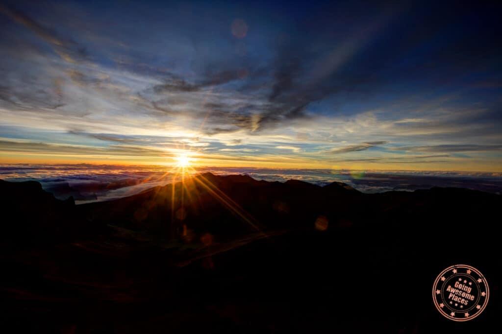haleakala national park summit sunrise in maui 5 day itinerary