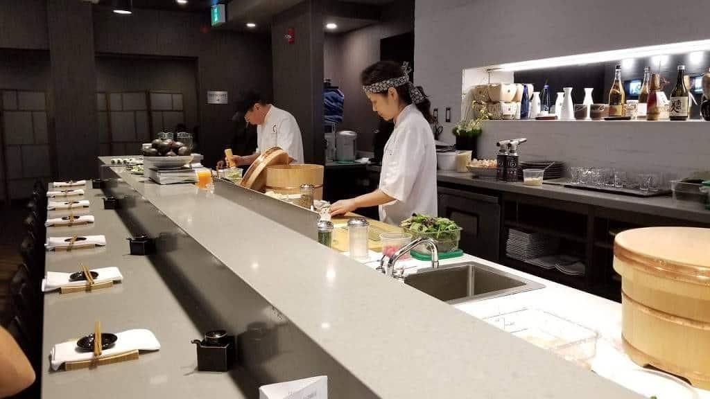 masaki sushi restaurant in notl