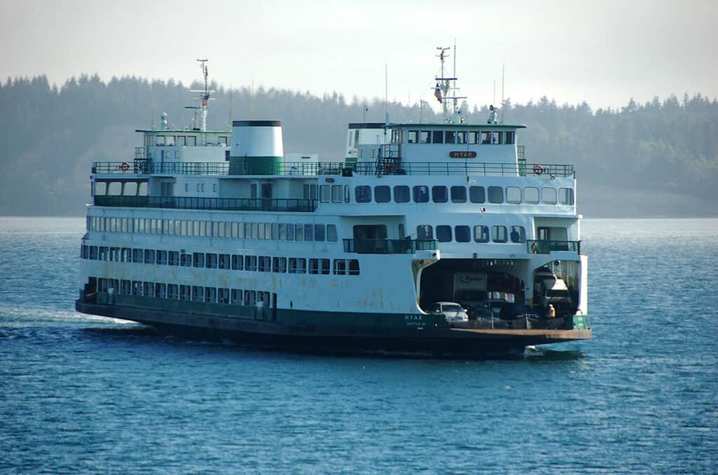 washington state ferry to san juan islands