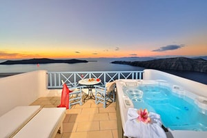 absolute bliss villa in imerovigli in santorini