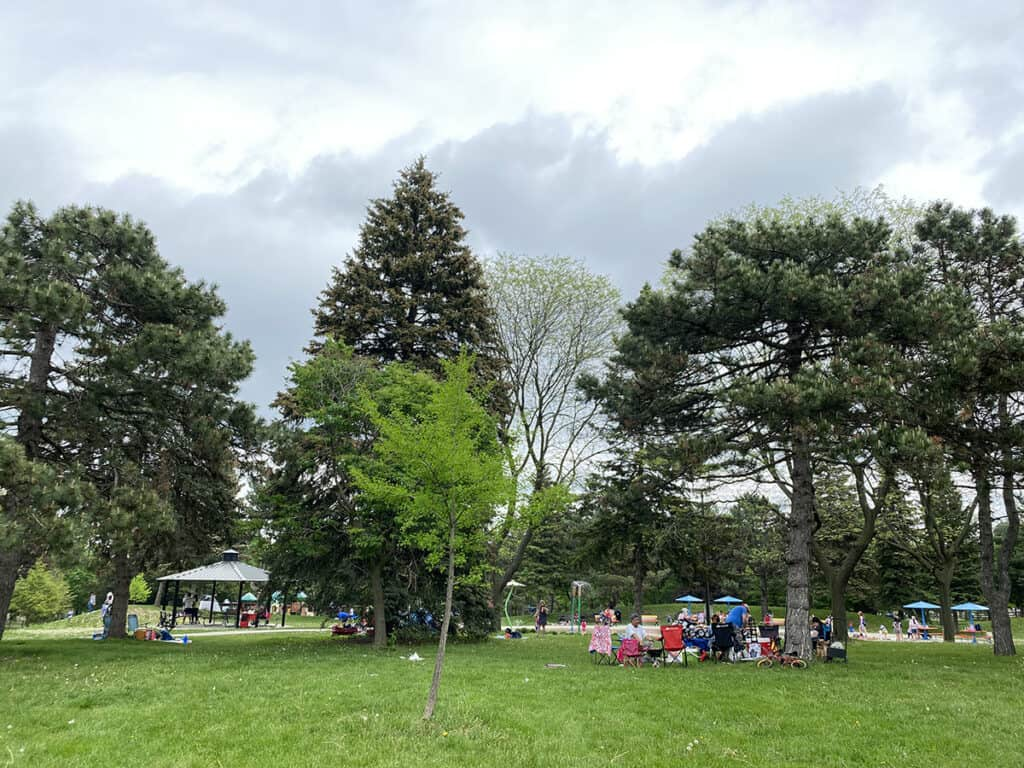 bring your own bbq grill to city of toronto park