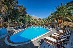 meltemi village hotel in perissa area in santorini