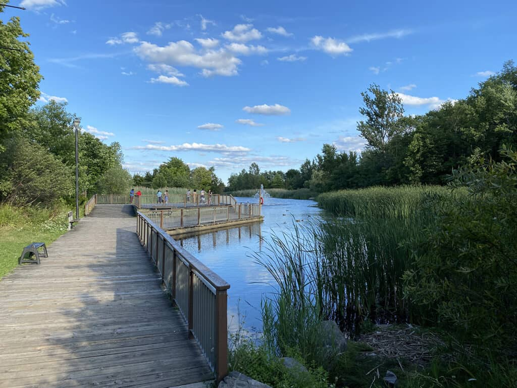 milliken park in scarborough for picnic and bbq grill