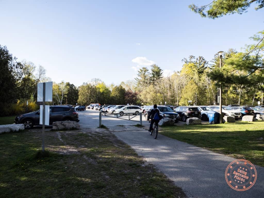 morningside park first parking lot