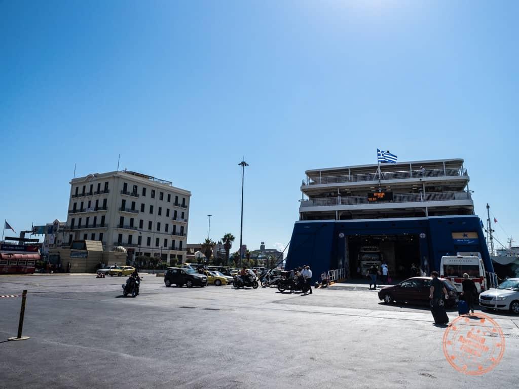 piraeus port in athens