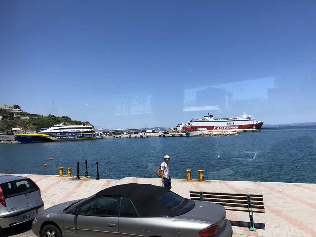 rafina port in athens
