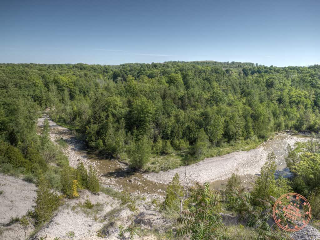rouge national urban park vista trail view