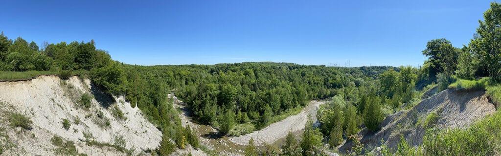 rouge national urban park vista trail panorama