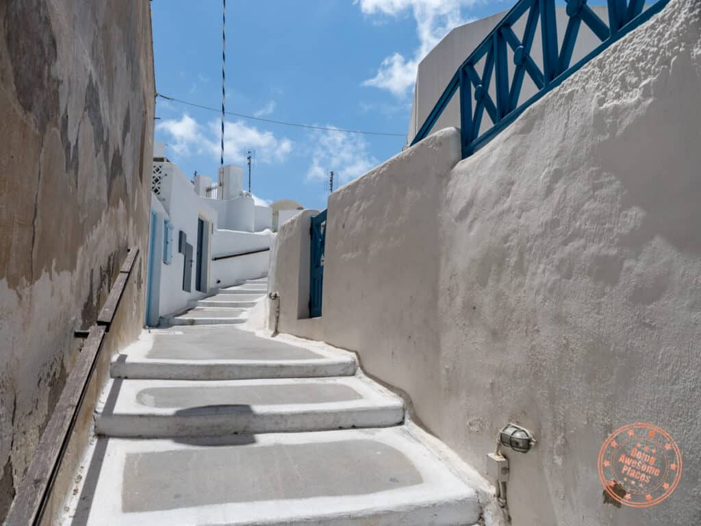photogenic streets of megalochori