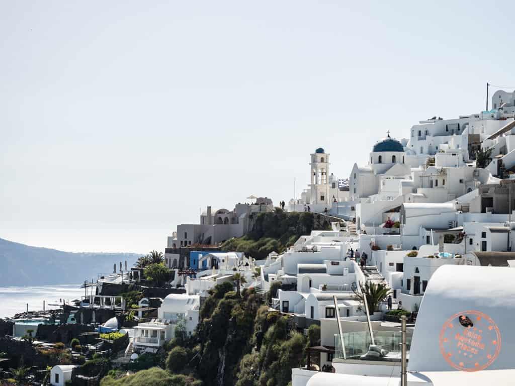 where to stay in imerovigli santorini