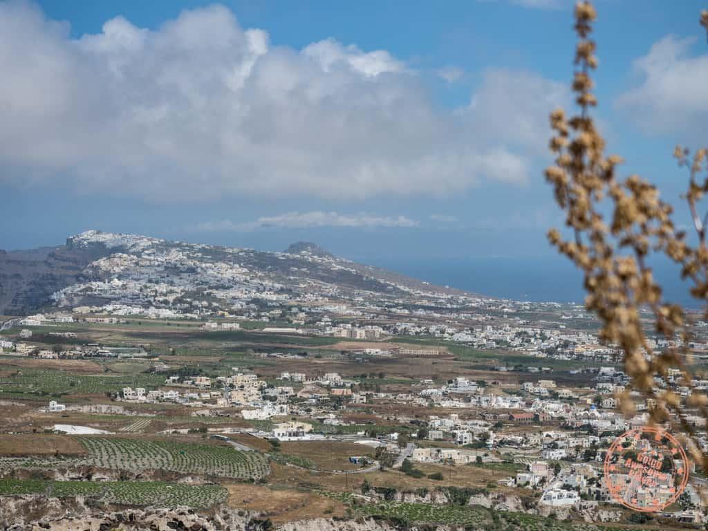view from pyrgos castelli