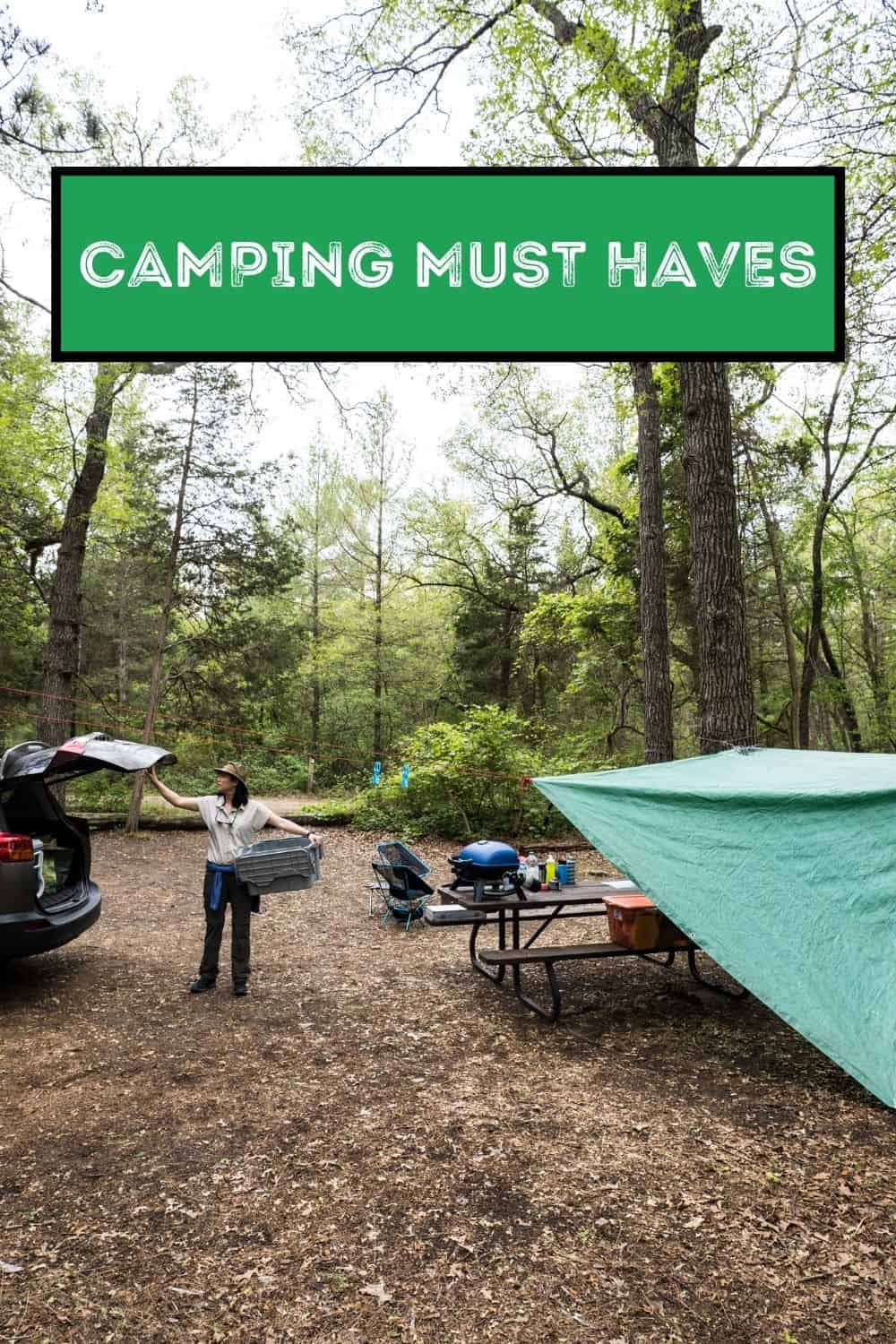 Ultimate Camping Must Haves Packing List