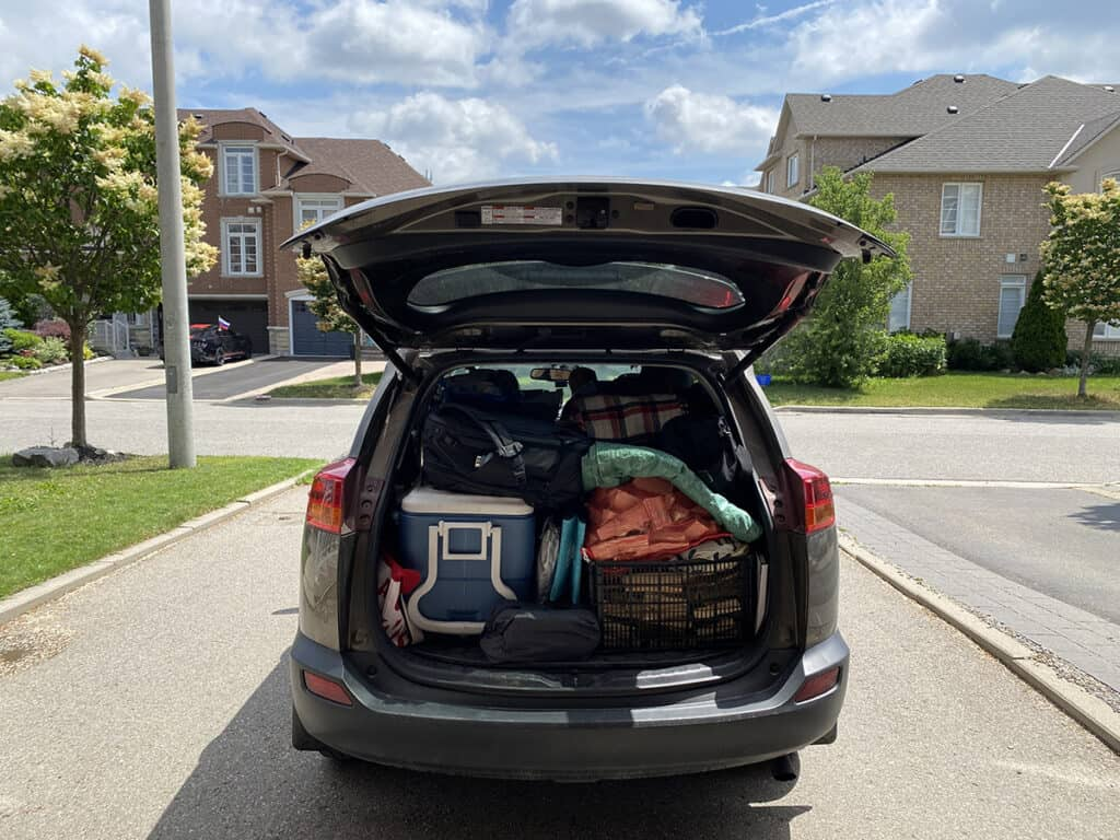 camping must haves packing tips for your car