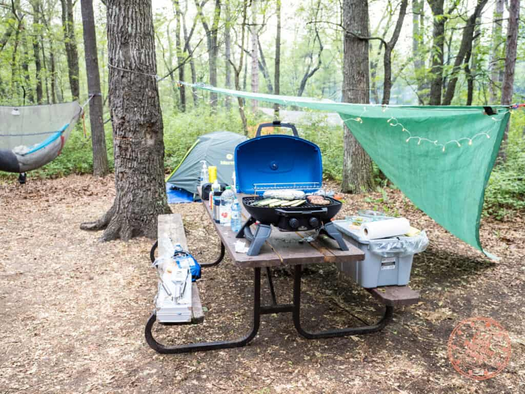 cooking gear in camping must haves list