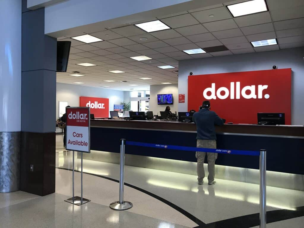 dollar car rental promo codes airport kiosk