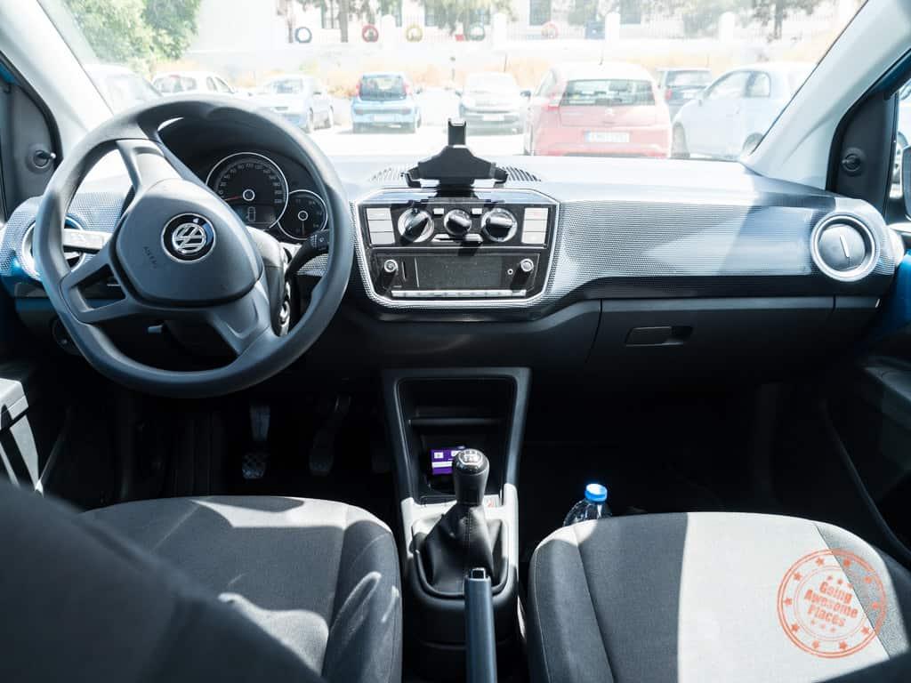 manual transmission car rental in santorini